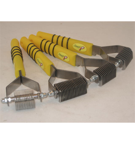 Smart Grooming Yellow Handle Tail Coarse