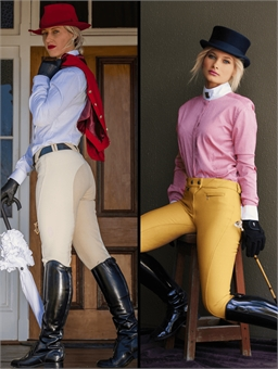 PETER WILLIAMS LADIES FULL SEAT SHOW BREECH-wholesale-brands-Top Notch Wholesale
