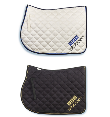 Stubben Saddle Cloth Velour with Logo