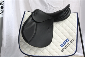 Zaria Jumping Saddle, 1/2 deep seat.-wholesale-saddles-Top Notch Wholesale